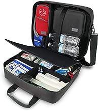USA GEAR Medical Bag - Medical Supplies Bag for Doctors, Veterinarians, and Nurses - Medical Messenger Bag Medical Doctor Bag with Water Resistant Exterior, Shoulder Strap, and Customizable Interior