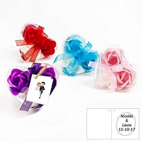 Desconocido Flores de Jabon para Bodas