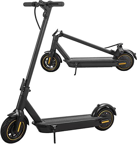 Patinetes eléctricos Adultos, Motor de Alta Potencia de 350W, autonomía máxima de 50-60KM y Velocidad máxima de 33KM/H, 3 velocidades (15/25/33) App controlado Plegable Scooter eléctrico