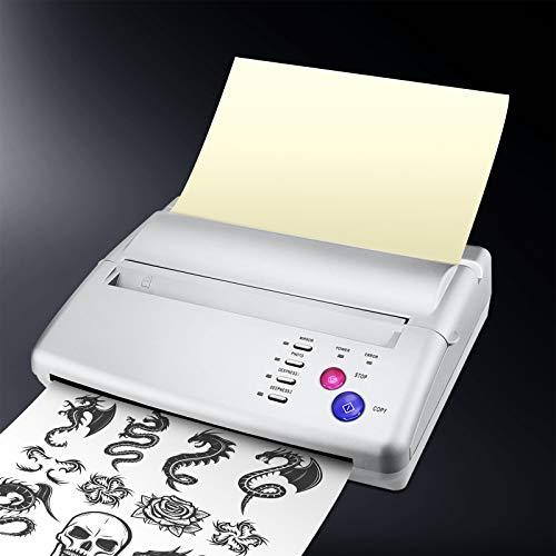 KKTECT Stampante termica per tatuaggi Macchina termica per stencil per tatuaggi Totem, Stampante per manoscritti Carta transfer per tatuaggi (Stampante per tatuaggi)