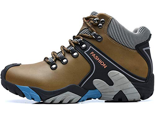 SINOES Herren Mesh Atmungsaktiv Outdoor Off-Road Running Wandern Schuhe Trekking Camping Turnschuhe Lace-up Low-Top Sports Casual Footwear