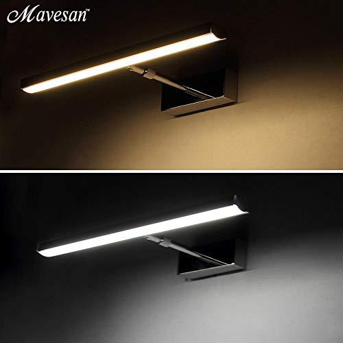 LED spiegel wandlamp acryl wand Mini Style @ 7w 39cm_Nature White (3500-5500K)