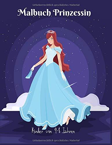 Malbuch Prinzessin Kinder von 4-8 Jahren: Großes 8,5x11 Zoll Malbuch für Mädchen, Kinder, Kleinkinder im Alter von 2-4,6-8 mit 101 hochwertigen Bildern zum Ausmalen Spaß. (Band 10)