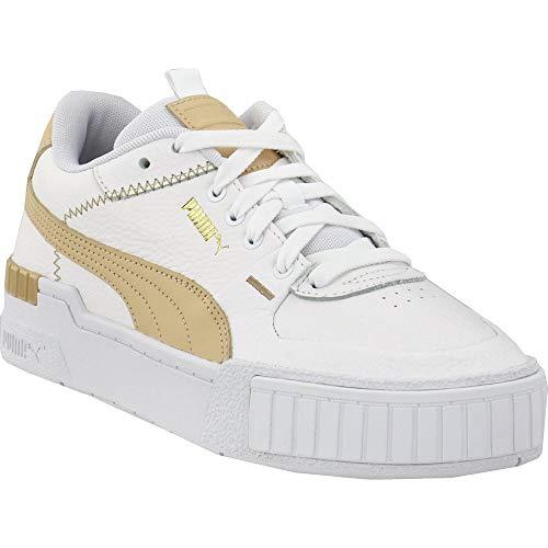 PUMA Womens Cali Sport Pastel Platform Sneakers Shoes Casual - White - Size 7.5 B