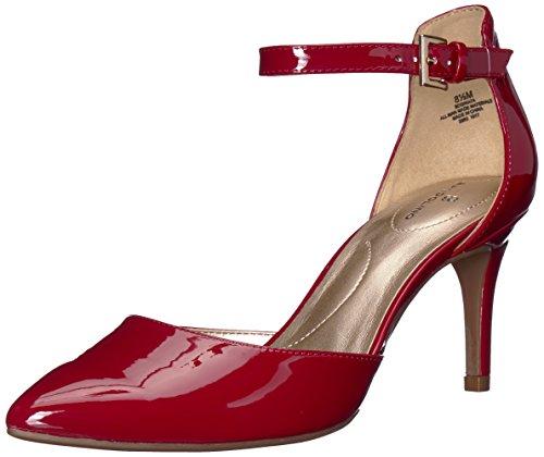 Bandolino Footwear Women's Ginata Pump, Rosy red, 8