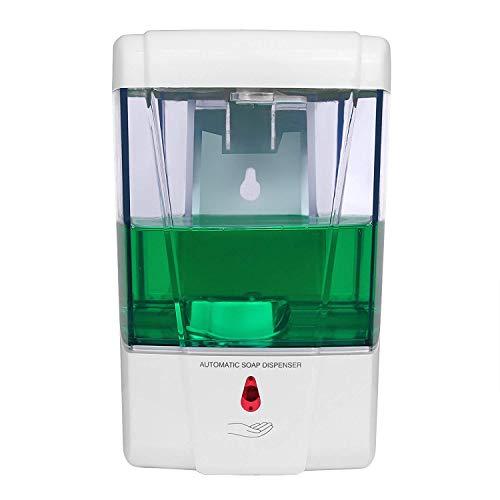 Kangler Automatic Soap Dispenser Wall Mount, 700ml Liquid Soap Dispenser for Kitchen Bathroom Hotel Commercial