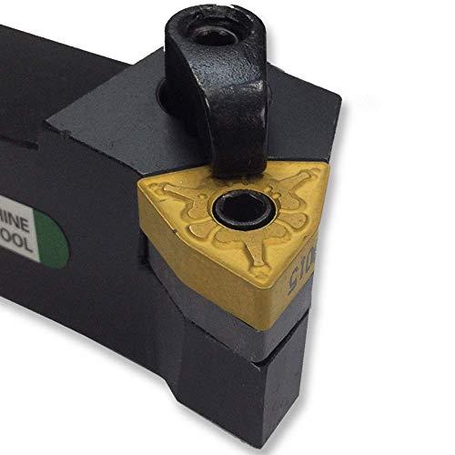 Maifix MWLNL2020K08 Portaherramientas de torno CNC Inserciones de carburo de mano izquierda maciza Mecanizado Cortador de corte Herramientas de torneado externas