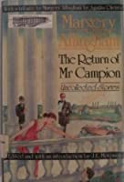 The Return of Mr. Campion 0380714485 Book Cover