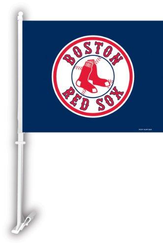MLB Boston Red Sox 2-Sided Car Flag