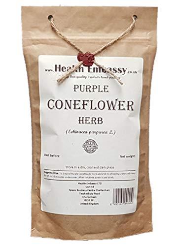 Health Embassy - Purpur Sonnenhut Kraut (Echinacea Purpurea L) - Purple Coneflower Herb (100g)