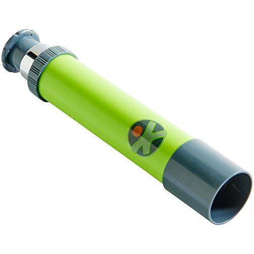 HABA 303537 - Terra Kids Kinder-Fernrohr, handliches Teleskop für Naturbeobachtungen mit Kindern, Outdoor-Tool aus Metall, Zubehör für Ausflüge in die Natur, beim Wandern, Campen und Zelten