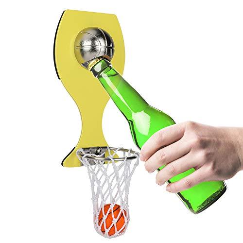 Abridor de Botellas de Baloncesto con Bolsillo Montado en la Pared para Decoración del Hogar Puede Vino Cerveza Abridor imán cocina Gadget Bar Fiesta Suministro