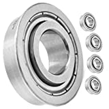 HD Switch (4 Pack) Super Duty Front Wheel Bearing Replaces Grasshopper 120050 5/8' x 1 3/8' - OEM Upgrade