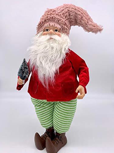 "AtoZ | Santa Claus Decoration | Fall Decorations for Home | 22"" | Gnome Christmas Decorations | Holiday Decorations | Decoracion de Navidad"