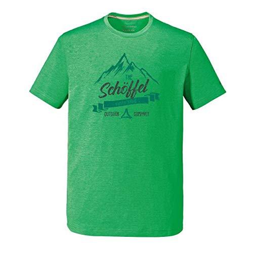 Schöffel Herren Perth2 T-SIRT T-Shirt, Bright Green, 52