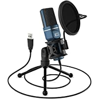 TONOR Computer Condenser PC Mic USB Gaming Microphone (TC-777)