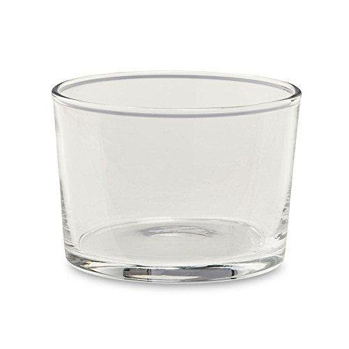 HAY Hay Glas 4 Stück S, transparent Ø 8,5cm H: 6cm