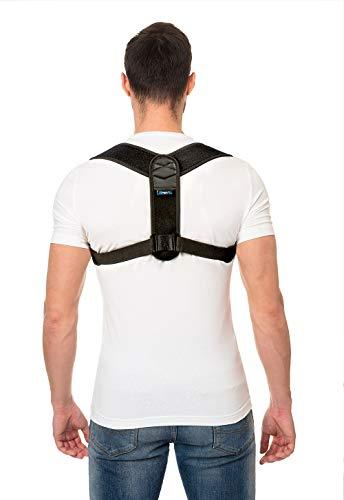 Branfit Supporto clavicola spalla e correttore postura per unisex adulto
