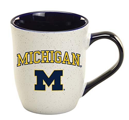 Michigan Wolverines 16 oz Granite Mug