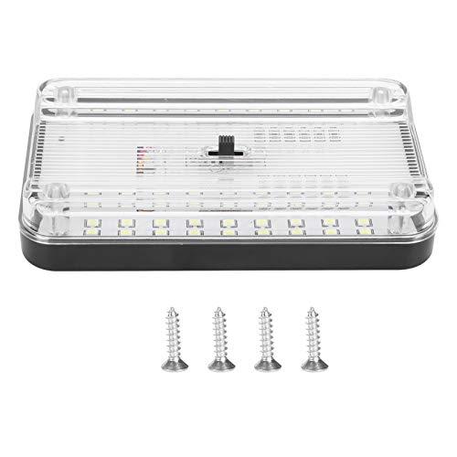 WANZSC Luz de Techo para Coche de 36 LED, lámpara de Lectura automática, luz de Techo Interior para Techo, Accesorios de iluminación para Coche, DC12V, lámpara de Lectura, luz de Lectura para Techo