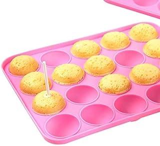LSTK Moule à bâtons Pops pour Faire Lollipop Bonbon Gâteaux