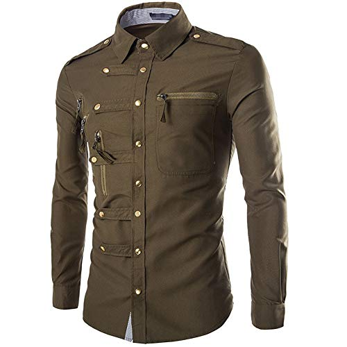 qulvyushangmaobu Herrenmode Slim Fit Businesshemd Casual Shirt Langarm Popeline Shirt Casual Casual Langarm Plaid Slim Fit Dress Shirts