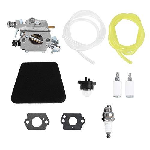 Carburador, Accesorios de Motosierra de Repuesto, Kit de Carburador Apto, para Motosierra Poulan 1950 2050 2375 2150, Walbro WT 891 545081885