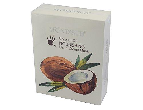 Elitzia ETNH4002 Coconut Oil Hand Cream Mask 5 Pieces A Box Maintain Healthy Skin