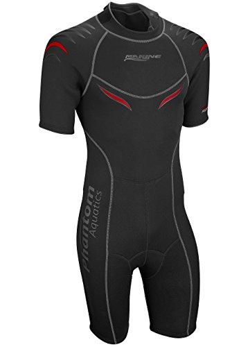 Phantom Aquatics Marine Men's Shorty Wetsuit,...