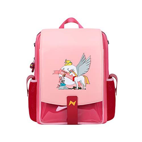 NOHOO Kids Backpack Elementary School Bag, Cute Cartoon Waterproof School Bag for Kids Boys Girls 5~12 Years Old