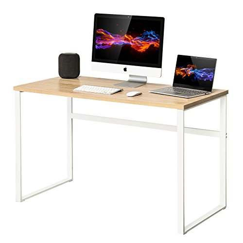 HOMURY Computer Desk for Home Office, 44' Writing Table for Small Space, BCD112002MW