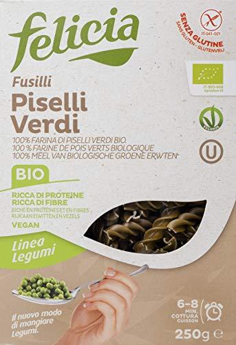Felicia Fusilli 100% Piselli Verdi Bio - 250 gr