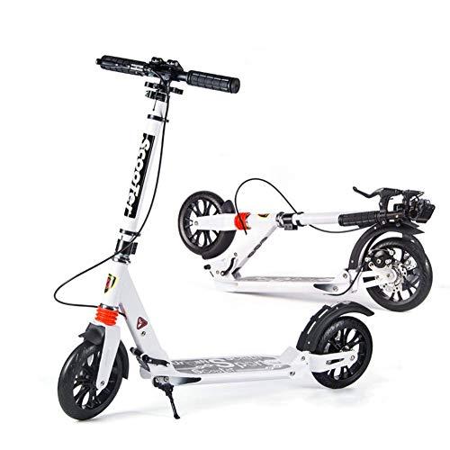 Scooter para Adultos, Patinete Plegable con Frenos de Disco, patinetes de Viaje...