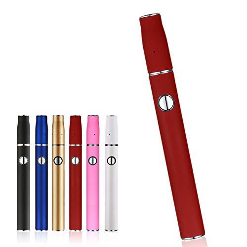 HITASTE Quick 2.0 Plus 加熱式たばこ 互換機 本体 スターターキット 加熱式電子タバコ 電子タバコ 12本連続 吸引 900mAh 温度調整 時間調整 自動クリーニング (レッド)