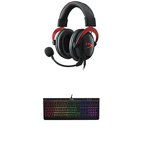 HyperX Cloud II Red + Clavier Core RGB