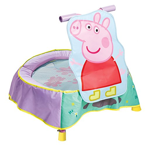 Kid Active Peppa Pig Childrens Toddler Trampoline