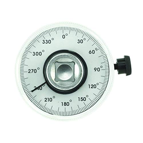 Supercrazy 1/2 Inch Torque Wrench Angle Gauge Tool SF0136