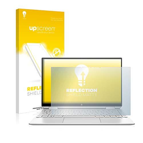 upscreen Entspiegelungs-Schutzfolie kompatibel mit HP Spectre x360 13-aw0020ng – Anti-Reflex Bildschirmschutz-Folie Matt