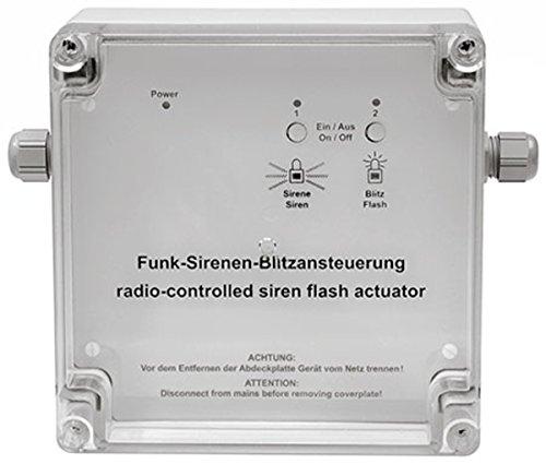 HomeMatic Funk-Sirenen-/Blitzansteuerung