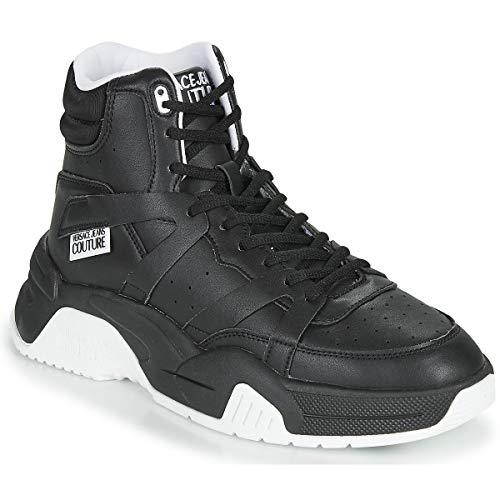 Versace Jeans Couture Yzasf3 Zapatillas Moda Hombres Negro - 42 - Zapatillas Altas Shoes