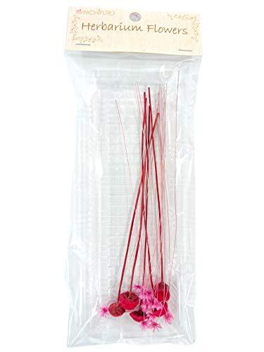 ニチフロ(Nichiflro) ハーバリウム用花材 ミニフラワーMIX ピンク