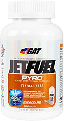 German American Technology Jet Fuel Pyro, 120-Count