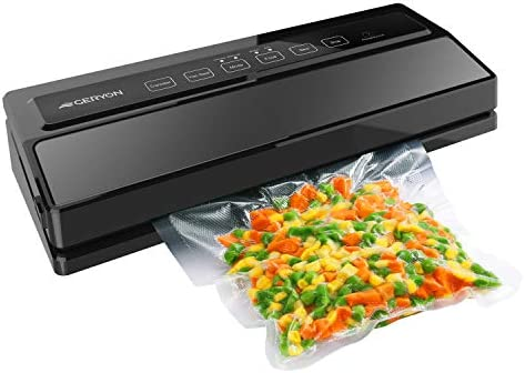 GERYON Vacuum Sealer Automatic Food Sealer Machine for Food Savers w Starter Kit Led Indicator product image