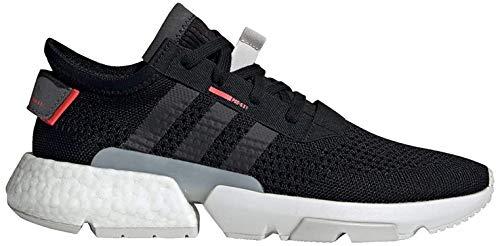 Adidas POD-S3.1, Zapatillas de Deporte Hombre, Multicolor (Negbás/Negbás/Rojsho 000), 41 1/3 EU