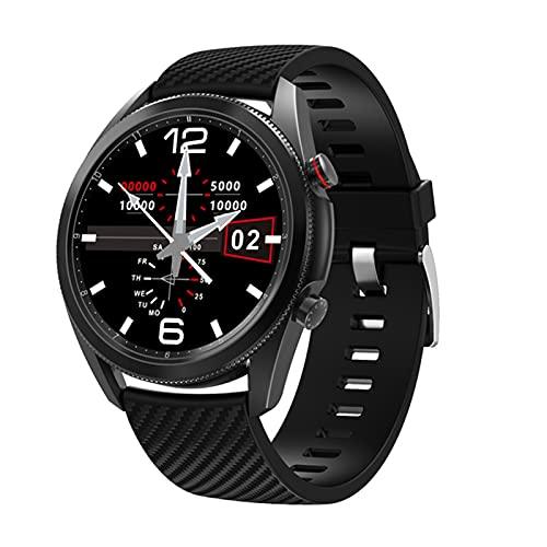 DT91 Reloj Inteligente para Hombres Y Mujeres, Ritmo Cardíaco/Monitoreo De La Presión Arterial IP67 Pulsera Inteligente A Prueba De Agua para iOS para Android,B
