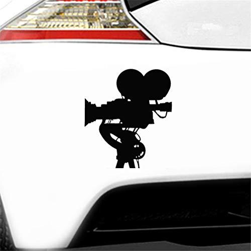 3d aufkleber auto Filmkamera Autok?rperaufkleber Fenster Tür Aufkleber Lustiges Oberteil Wasserdicht 12X10cm