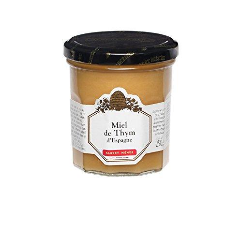 ALBERT MENES AM - Les Miels - Miel de Thym d'Espagne 250 g - Lot de 3