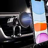 Migeec Soporte magnético para teléfono con clip mejorado para ventilación de aire compatible con iPhone 12 11 Pro Max Xr X Galaxy