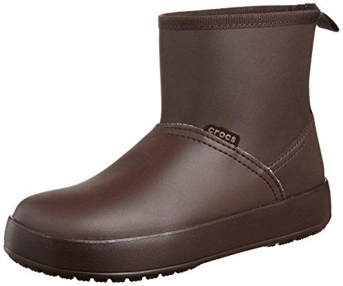 Crocs ColorLite, Damen Stiefel, Braun (Mahogany/Mahogany), 34.5 EU