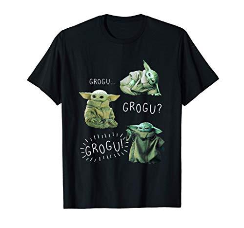 Star Wars: The Mandalorian Grogu Grogu Grogu R14 Camiseta